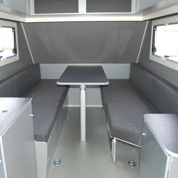 Kip Shelter Interieur