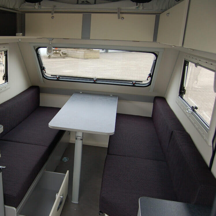 Technische daten - Shelter caravan by Kip