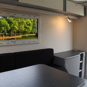 Kip Shelter Plus, de compacte caravan met een praktische indeling