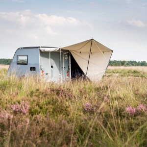 Kip Shelter met Luifel