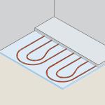 De Kip Shelter Plus is standaard voorzien van vloerverwarming