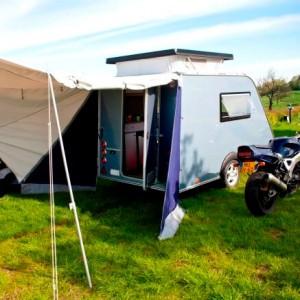 Shelter Kleine Caravan tot 750 kg