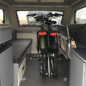 Kip Shelter fietsbevestiging, droog en veilig uw fietsen vervoeren