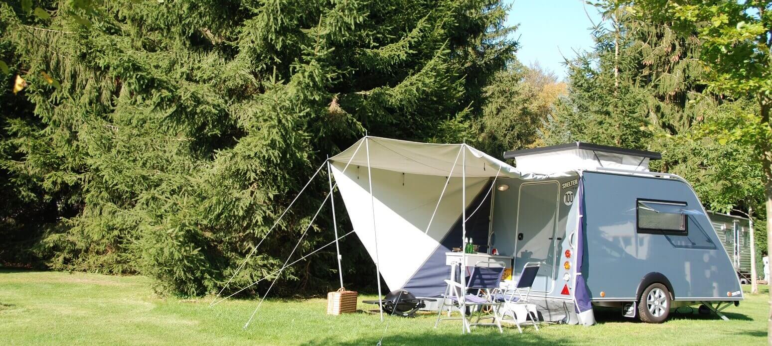 De compacte caravan voor de echte kampeer liefhebber is de Kip Shelter Plus