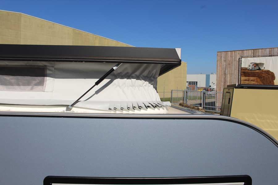 Hefdak met ventilatiemogelijkheden